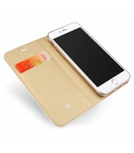 """Juodas atverčiamas dėklas Samsung Galaxy S9 Plus telefonui """"Spigen Wallet S"""""""