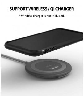 """Juodas dėklas LG G6 telefonui """"Spigen Rugged Armor"""""""