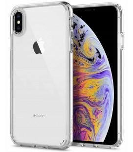"Skaidrus dėklas Apple iPhone X/XS telefonui ""Spigen Ultra Hybrid"""