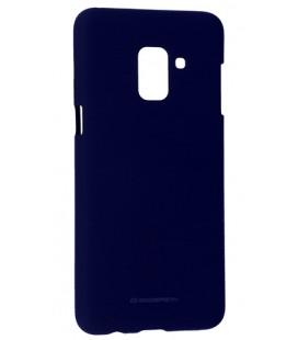 "Mėlynas silikoninis dėklas Samsung Galaxy A6 Plus 2018 telefonui ""Mercury Soft Feeling"""