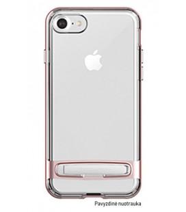"""Rausvai auksinės spalvos silikoninis dėklas Samsung Galaxy J7 2017 telefonui """"Mercury Goospery Dream Bumper"""""""