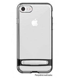 """Juodas silikoninis dėklas Samsung Galaxy A8 2018 telefonui """"Mercury Goospery Dream Bumper"""""""