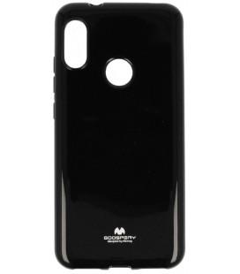 """Juodas silikoninis dėklas Xiaomi Mi A2 Lite telefonui """"Mercury Goospery Pearl Jelly Case"""""""