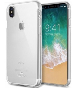 "Skaidrus silikoninis dėklas Apple iPhone XR telefonui ""Mercury Goospery Pearl Jelly Case"""