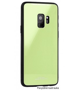 """Žalias dėklas Xiaomi Redmi 6 telefonui """"Glass Case"""""""