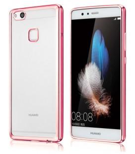 """Rožinis silikoninis dėklas Huawei P10 Lite telefonui """"Glossy"""""""