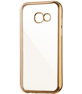 """Auksinės spalvos silikoninis dėklas Samsung Galaxy A3 2017 A320 Telefonui """"Glossy"""""""