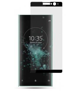 """Juodas apsauginis grūdintas stiklas Sony Xperia XA2 Plus telefonui """"Mocolo"""""""