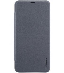 """Atverčiamas pilkas dėklas Xiaomi Pocophone F1 telefonui """"Nillkin Sparkle S-View"""""""