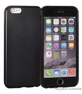"Juodas dėklas Xiaomi Pocophone F1 telefonui ""Case Matt"""
