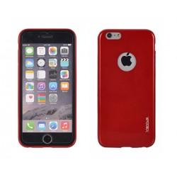 "Raudonas plonas 0,3mm dėklas Sony Xperia Z3 telefonui ""Jelly Case Ultra Slim"""
