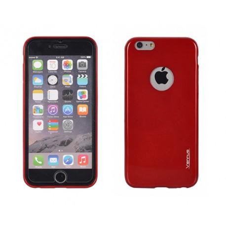 "Raudonas plonas 0,3mm dėklas Sony Xperia Z3 D6603 telefonui ""Jelly Case Ultra Slim"""