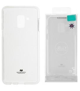 """Skaidrus silikoninis dėklas Samsung Galaxy J8 2018 telefonui """"Mercury Goospery Pearl Jelly Case"""""""