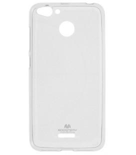 """Skaidrus silikoninis dėklas Xiaomi Redmi 6 telefonui """"Mercury Goospery Pearl Jelly Case"""""""