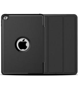 """Juodas atverčiamas dėklas Apple iPad Air 2 planšetei """"Tech-Protect Defender"""""""
