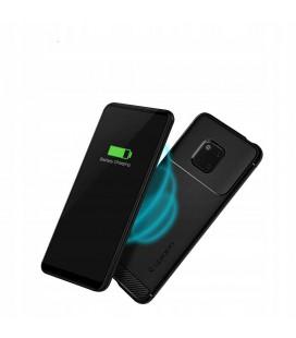 """Pilkas atverčiamas dėklas Samsung Galaxy A6 Plus 2018 telefonui """"Dux Ducis Skin"""""""