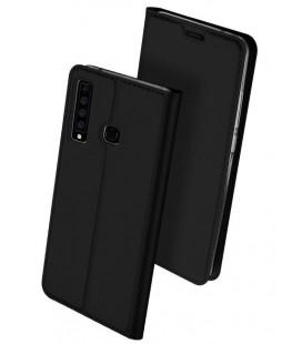 """Juodas atverčiamas dėklas Samsung Galaxy A9 2018 telefonui """"Dux Ducis Skin"""""""