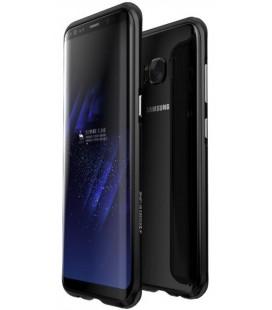 """Magnetinis metalinis juodas dėklas Samsung Galaxy S8 telefonui """"Luphie Bicolor Magnetic"""""""