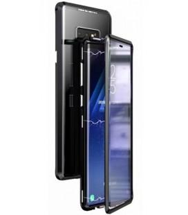 """Magnetinis metalinis juodas dėklas Samsung Galaxy Note 9 telefonui """"Luphie Bicolor Magnetic"""""""