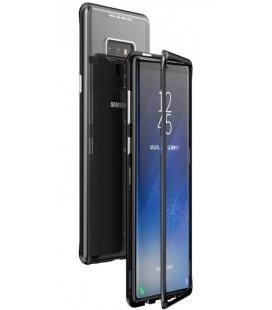"""Magnetinis metalinis juodas dėklas Samsung Galaxy Note 9 telefonui """"Luphie Magnetic ARC"""""""