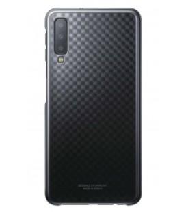 """Originalus juodas dėklas """"Gradation Cover"""" Samsung Galaxy A7 2018 telefonui """"EF-AA750CBE"""""""