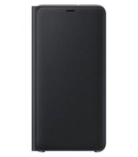 """Originalus juodas dėklas """"Wallet Cover"""" Samsung Galaxy A7 2018 telefonui """"EF-WA750PBE"""""""