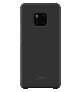 """Originalus juodas dėklas Huawei Mate 20 Pro telefonui """"Silicone Case"""""""