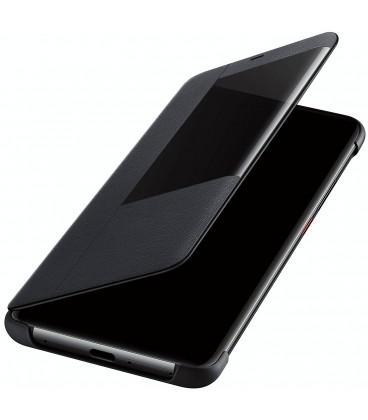 """Originalus juodas atverčiamas dėklas Huawei Mate 20 Pro telefonui """"Smart View Flip Cover"""""""