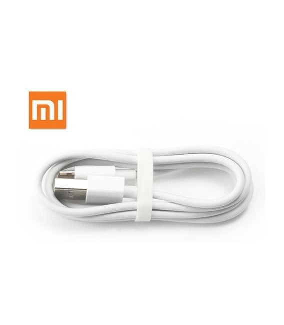Originalus baltas Xiaomi USB - MicroUSB laidas