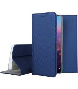"""Mėlynas atverčiamas dėklas Huawei P20 Pro telefonui """"Smart Book Magnet"""""""