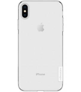"Skaidrus silikoninis dėklas Apple iPhone XS Max telefonui ""Nillkin Nature"""