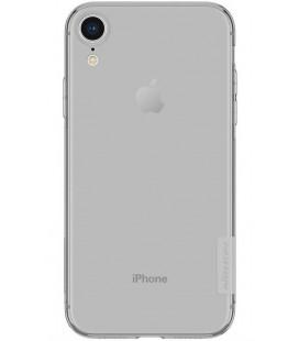 "Pilkas silikoninis dėklas Apple iPhone XR telefonui ""Nillkin Nature"""