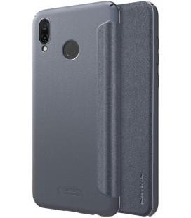 """Atverčiamas pilkas dėklas Huawei Honor Play telefonui """"Nillkin Sparkle"""""""