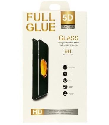 """5D Lenktas juodas apsauginis grūdintas stiklas Samsung Galaxy J6 2018 telefonui """"Full Glue"""""""