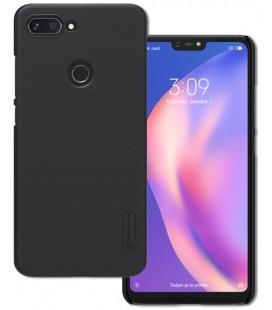 "Juodas dėklas Xiaomi Mi8 Lite telefonui ""Nillkin Frosted Shield"""