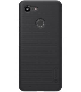 "Juodas dėklas Google Pixel 3 telefonui ""Nillkin Frosted Shield"""