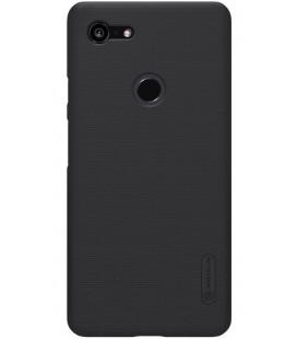 "Juodas dėklas Google Pixel 3 XL telefonui ""Nillkin Frosted Shield"""