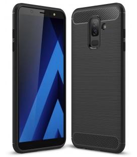 """Juodas dėklas Samsung Galaxy A6 Plus 2018 telefonui """"Tech-Protect"""""""