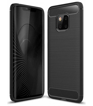 """Juodas dėklas Huawei Mate 20 Pro telefonui """"Tech-Protect"""""""