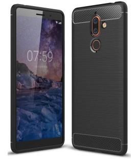 """Juodas dėklas Nokia 7 Plus telefonui """"Tech-Protect"""""""