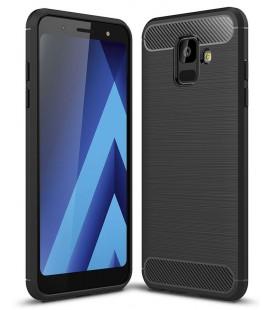 """Juodas dėklas Samsung Galaxy A6 2018 telefonui """"Tech-Protect"""""""