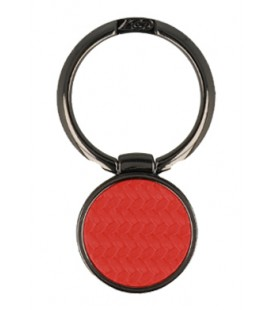 """Raudonas universalus telefono laikiklis ant piršto - žiedas """"Ring Carbon"""""""