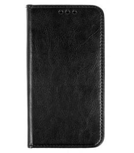 """Odinis juodas atverčiamas klasikinis dėklas Huawei Y9 2018 telefonui """"Book Special Case"""""""