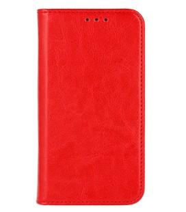"""Odinis raudonas atverčiamas klasikinis dėklas Samsung Galaxy A8 2018 telefonui """"Book Special Case"""""""