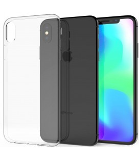 Skaidrus plonas 0,3mm silikoninis dėklas Apple iPhone XR telefonui