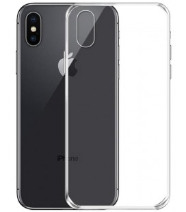Skaidrus plonas 0,3mm silikoninis dėklas Apple iPhone XS Max telefonui