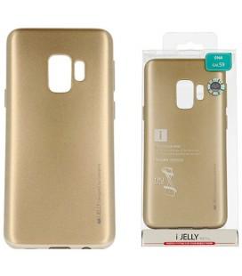 """Rausvai auksinės spalvos silikoninis dėklas Apple iPhone 6/6s telefonui """"Mercury Goospery Dream Bumper"""""""