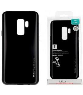 """Juodas silikoninis dėklas Samsung Galaxy S9 Plus telefonui """"Mercury iJelly Case Metal"""""""