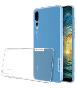 """Skaidrus silikoninis dėklas Huawei P20 Pro telefonui """"Nillkin Nature"""""""