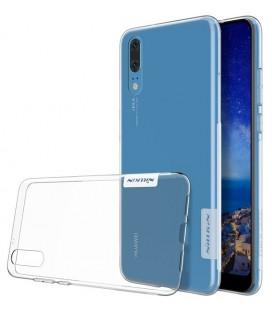"""Skaidrus silikoninis dėklas Huawei P20 telefonui """"Nillkin Nature"""""""